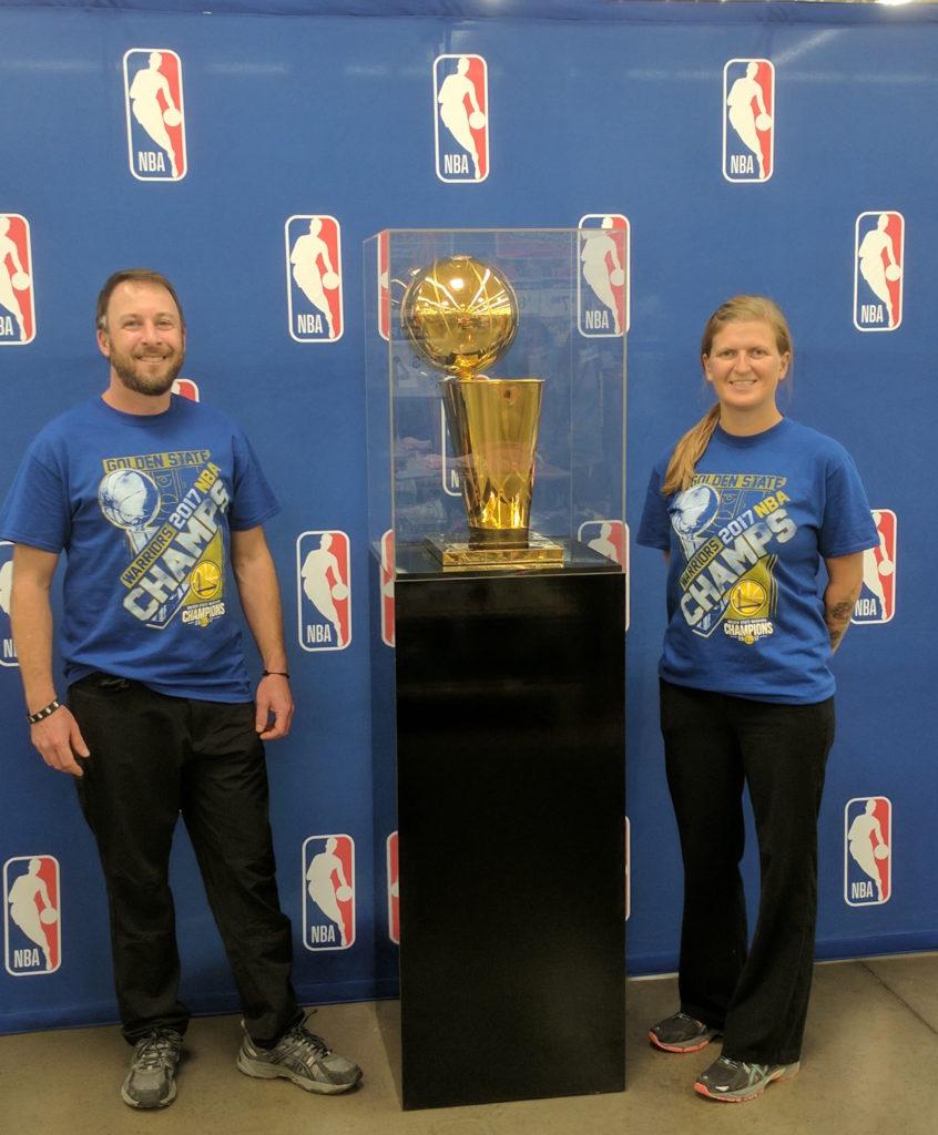 NBA Trophy Tour 2017